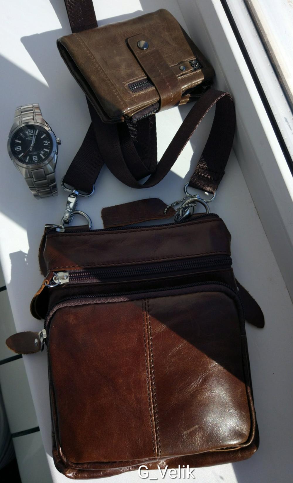 4990b6d7235b Мужская сумка из натуральной кожи из магазина #CheerfulStore Там оочень  много сумок и кошельков. 98.7% положительных отзывов, год работы.