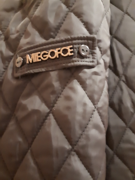 Spring Women's Parka Coat Warm Jacket Women's Thin Cotton Quilted Coat With Standing Collar New Collection Of Designer MIEGOFCE