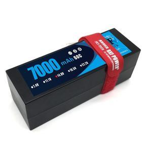 Image 3 - DXF 2S 3S 4S Lipo Battery 7.4V 11.1V 14.8V 5200mah 6500mah 7000mah 8000mah 50C 100C 60C 120C 110C 220C For Akku 1/8  Buggy Car