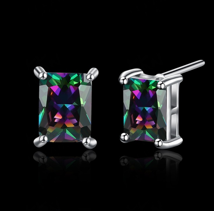 2019 NEW earrings Europe color Crystals from Swarovski Earring With Charm for Women Gift Fine jewelry