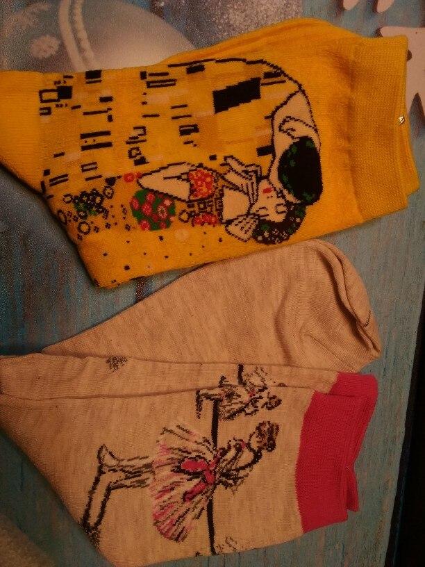 носок хлопка женщин; Толщина: Тонкие; случайные; Цвет:: цвет: разнообразный;