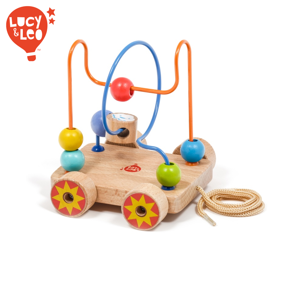 цена на Sorting, Nesting, Stacking toy Lucy&Leo LL150 learning educational for kids play girl boy toy labyrinth game boys girls toywood