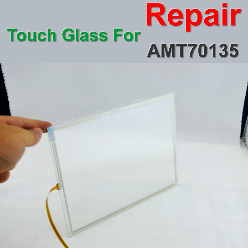 AMT70135 Touch Screen Panel Glass Digitizer for HMI CNC repair do it yourself New Have in