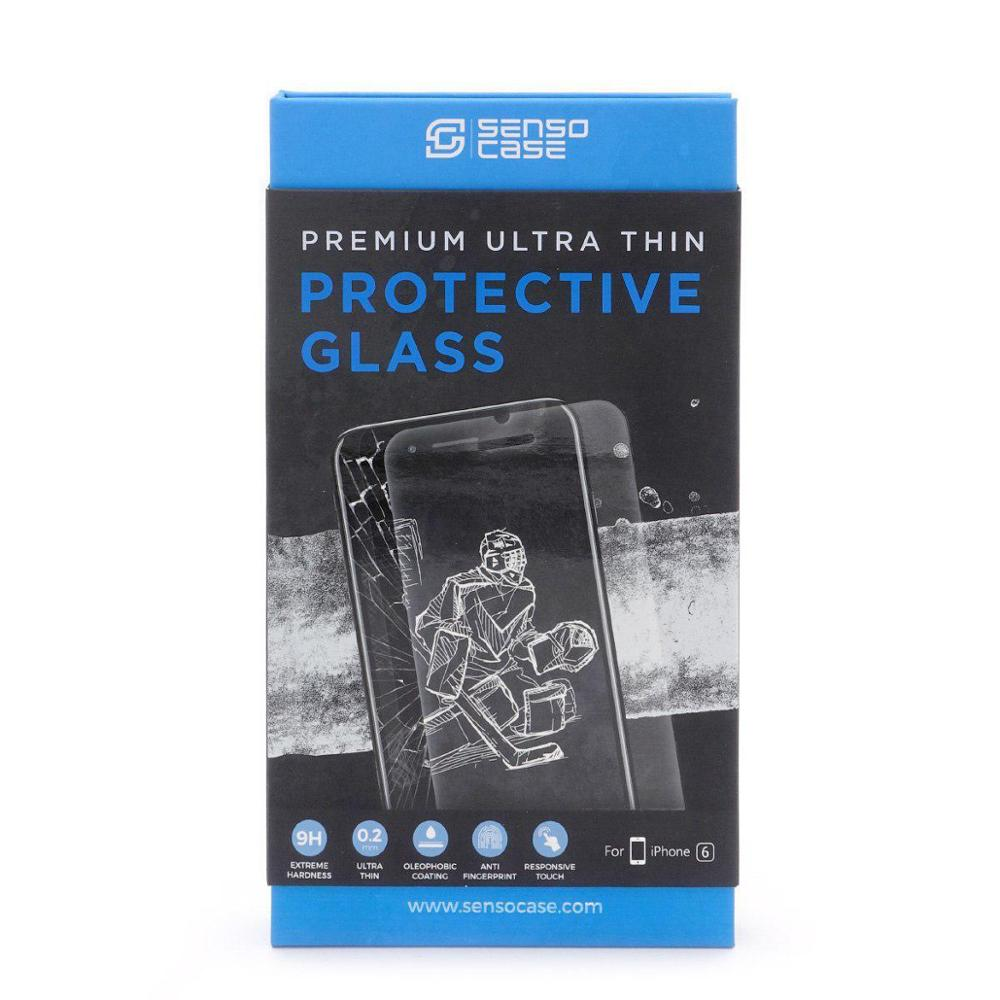 Защитное стекло Sensocase Protective Glass 0.2 мм для Iphone
