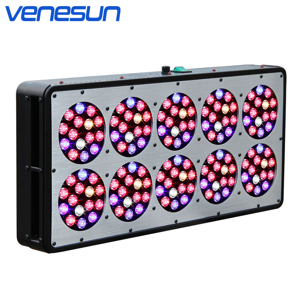 Full Spectrum LED Grow Light Venesun Apollo 10 Plant Grow Lamps High Efficiency Grow LEDs for Indoor Plant Hydroponic Greenhouse led grow light venesun apollo 4 full spectrum grow lamps high efficiency grow led for indoor planting hydroponic greenhouse