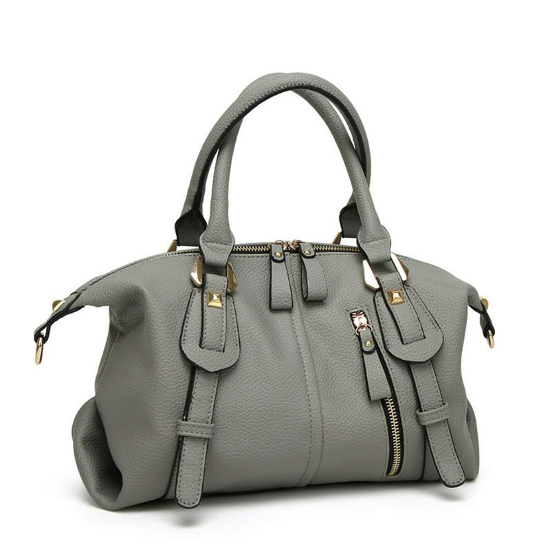 Fashion Solid Women Pillow Handbag Soft Leather Women Top-Handle Bag Tote Shoulder Bag Large Capacity dynacord psd 218