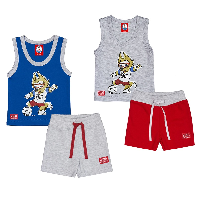 Sleepwear & Robes FIFA WORLD CUP RUSSIA 2018 for girls and boys F1-14 Children clothes kids clothes j ghee anime re zero starting life in another world rem sleepwear girls ver pvc decoration action figure brinquedos
