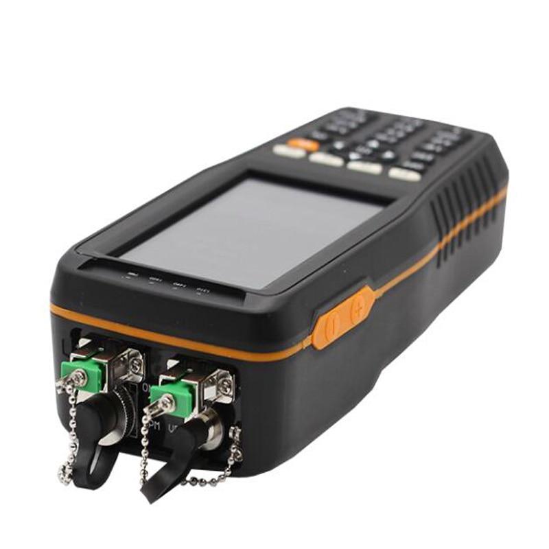 High Precision Mini Handheld Fiber Optical Equipment PON Optical Power Meter TM70B