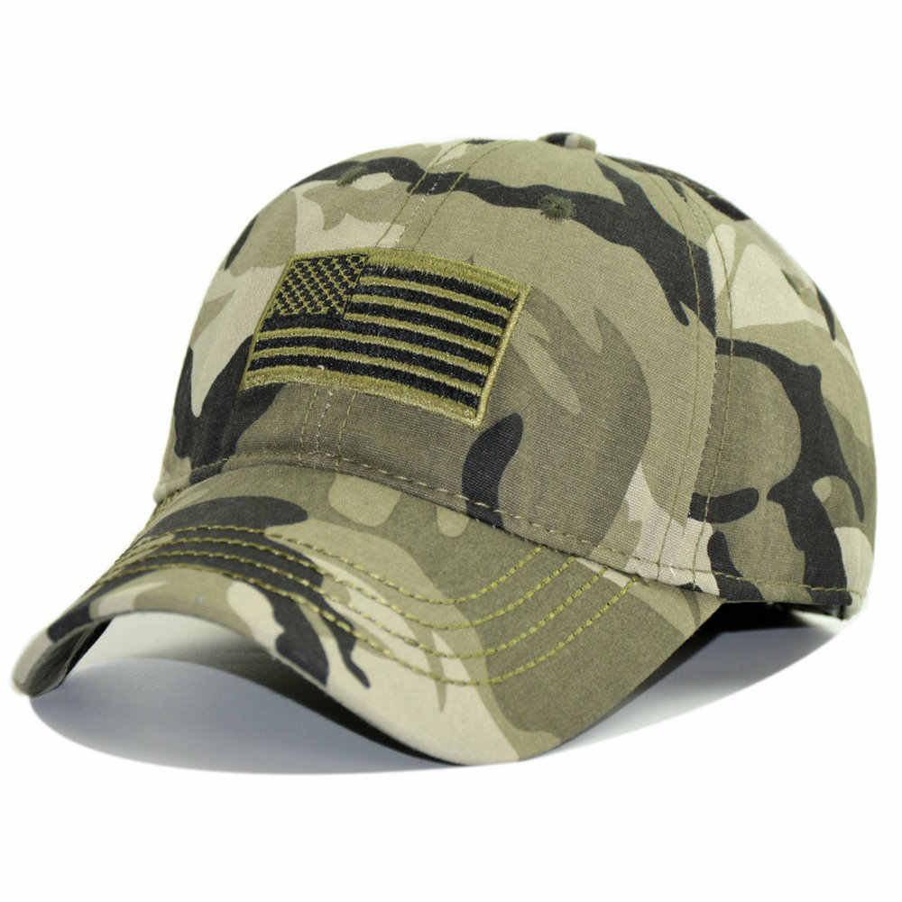 e8582601854c79 Camo Military Caps Men Camouflage Caps Summer Hat Men Army Cap Trucker  Snapback Adjustable CS Tactical