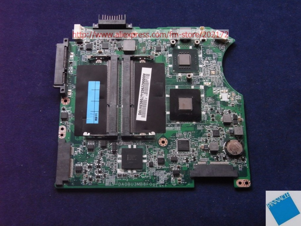 A000062290 MOTHERBOARD FOR Toshiba Satellite T135 Mainboard DA0BU3MB8F0  TSTED GOOD  motherboard for toshiba satellite t130 mainboard a000061400 31bu3mb00b0 bu3 100% tsted good