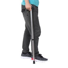 Aluminium alloy 750-900mm 2 section walking stick Camping Hiking mountaining trekking poles