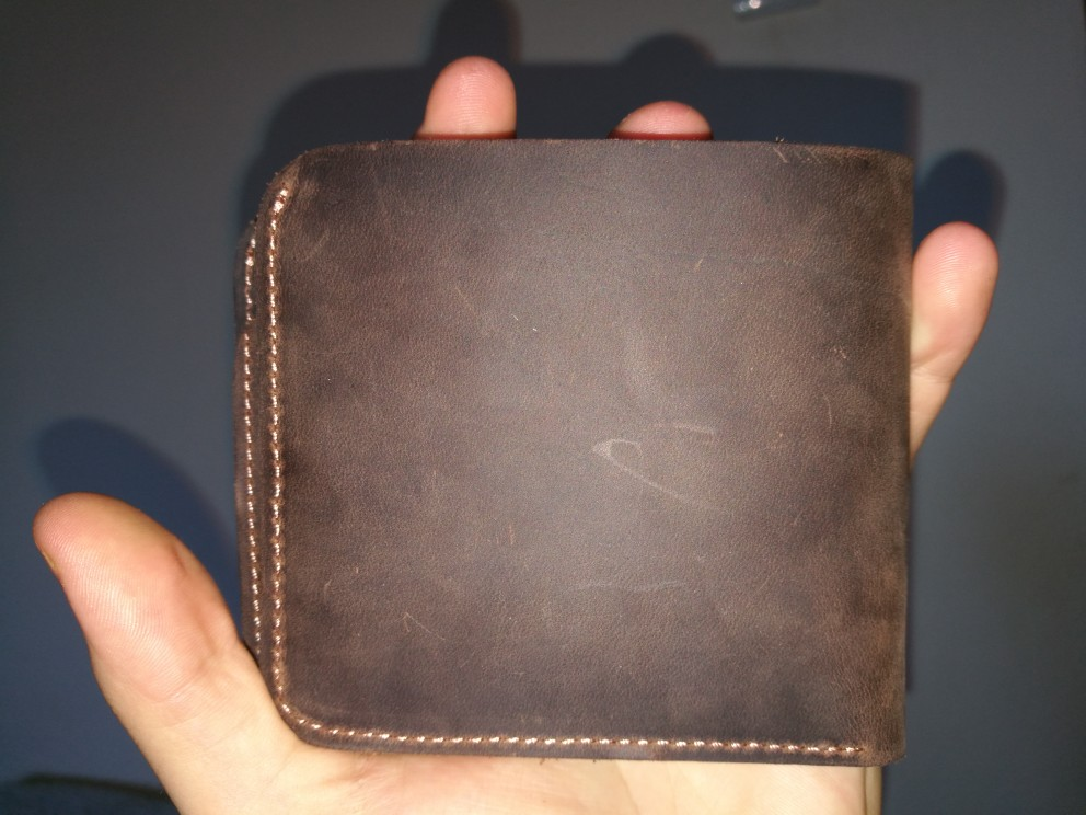 COWATHER 2019 Vintage cross-stijl rundlederen portefeuilles voor mannen van topkwaliteit nieuw ambachtelijk handgemaakt populair origineel merk photo review