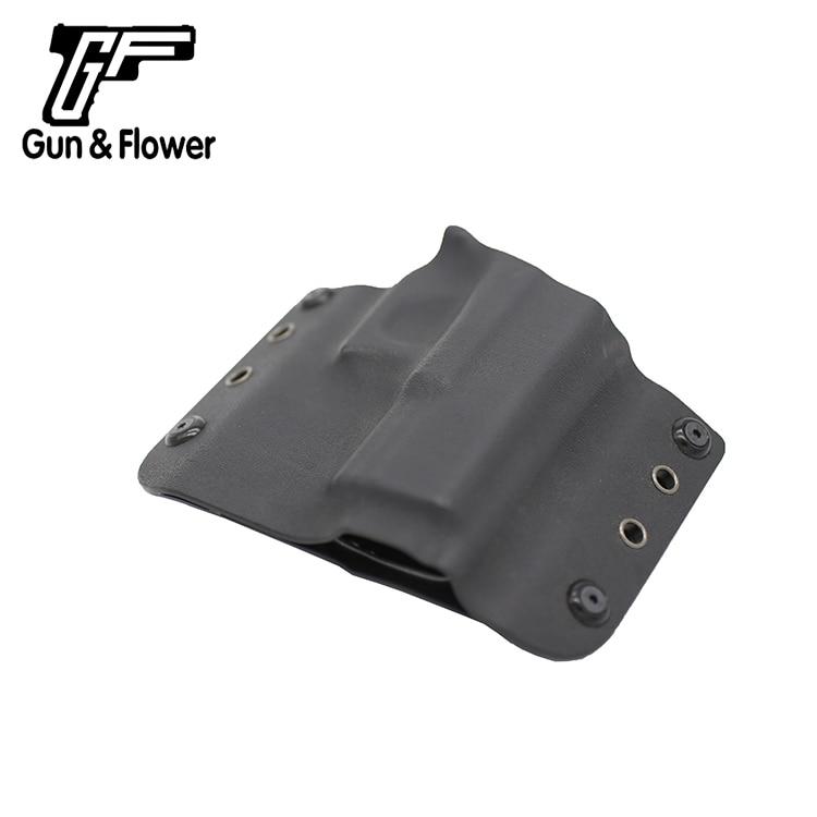 Gunflower OWB Kydex Holster for Hunting Shooting Gun Accessories Pistol Gun Pouch for Glock 19/23/32