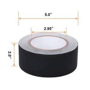 """Image 2 - Gaffer Tape Non Reflective Black Water Proof Insulating Tape 2"""" x 30 yard by U.S. Solid"""