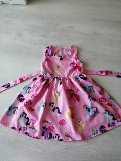 Baby Unicorn Girl Summer Dress photo review