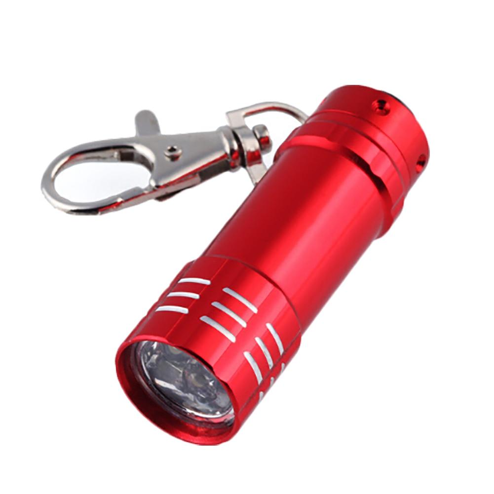 zheFanku Fashion Unisex Mini Flashlight Keychain Creative New Arrival Light Pendant Cute Keyring Keychain
