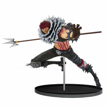 Original One piece OP Banpresto world figure colosseum Charlotte Katakuri action figure PVC model Figurals Dolls Brinquedos цена в Москве и Питере