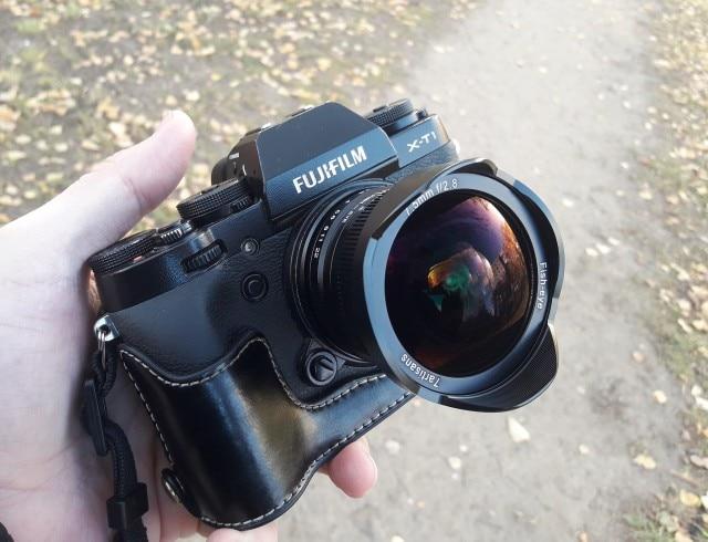 Viltrox 7.5mm F/2.8 Camera Fisheye Lens 180 Degree Multi-coated for Sony E Mount A6500 A7 II/M4/3 GH4 GH5 / Fuji X-T2 /Canon M10