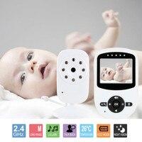 Babykam детская камера bebek telsizi радио няня 2,4 ''lcd ИК ночного видения Видео интеркомы 4 устройство контроля температуры малыша 2X зум