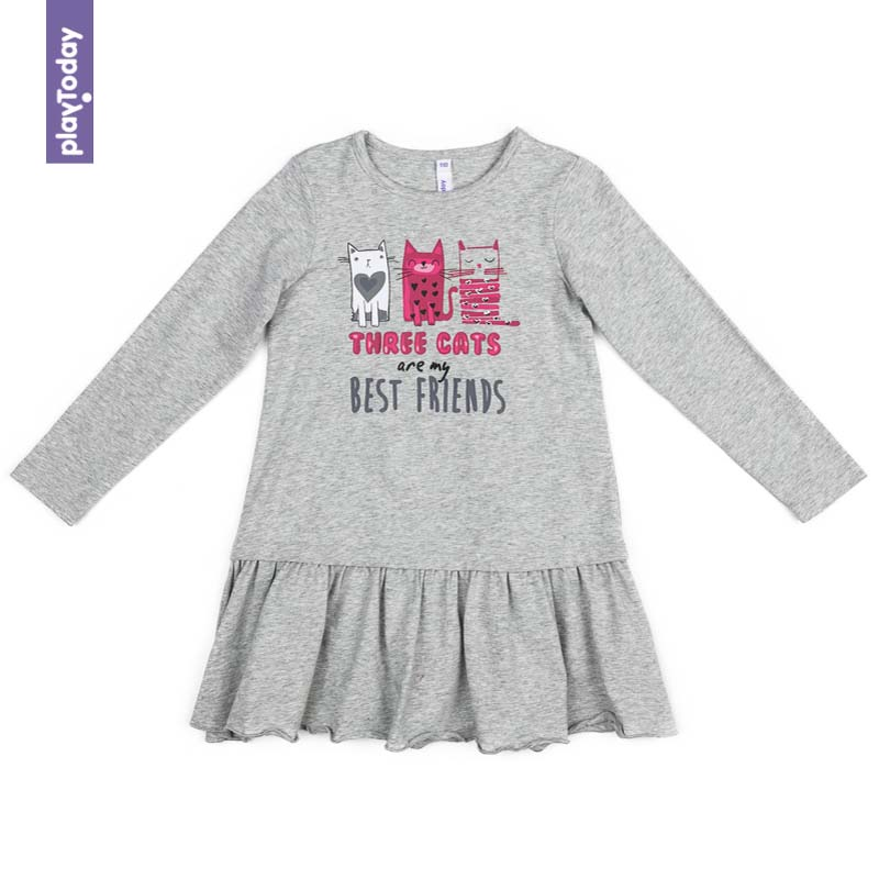 Dresses PLAYTODAY for girls 372023 Children clothes kids clothes пазл кастор петергоф 1000 элементов