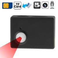Mini Wireless GSM GPS Security PIR Alarm SMS MMS Monitor Camera Video Security