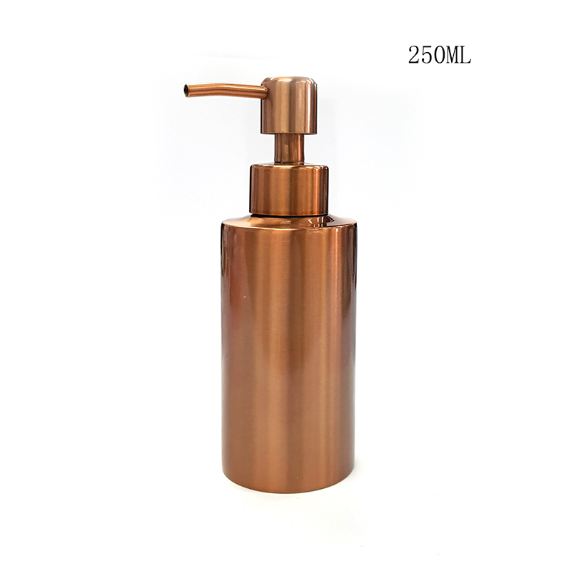 цена на Stainle Gold Kitchen Bathroom Hand Pump Liquid Soap Dispenser Lotion Detergent Bottle Bathroom Hardware