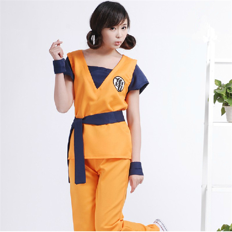 Cartoon Animation 7 Dragon ball Monkey King Japanese anime Costumes men and Women.