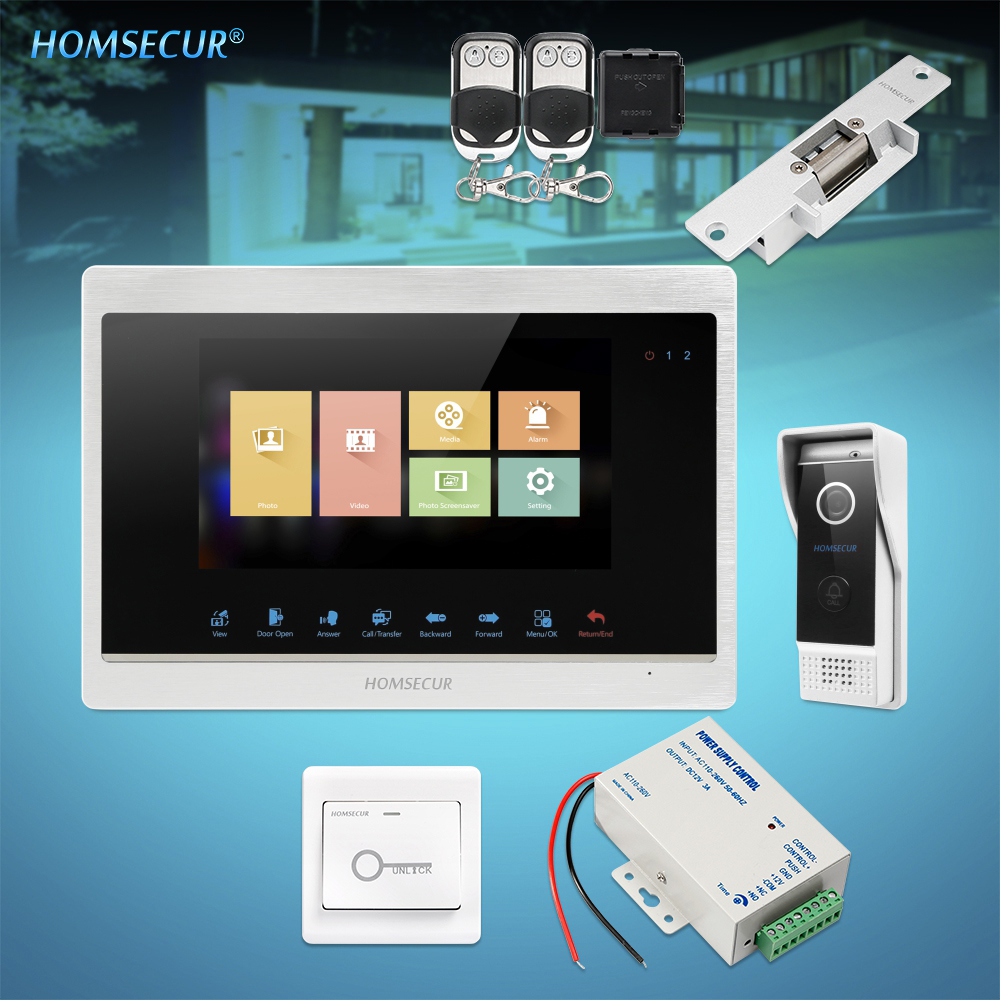 HOMSECUR 7 Video&Audio Home Intercom with Dual-way Intercom for Home Security  (BC031HD-B +BM702HD-S)HOMSECUR 7 Video&Audio Home Intercom with Dual-way Intercom for Home Security  (BC031HD-B +BM702HD-S)