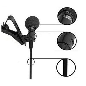 Image 3 - Portable Clip on Lapel Lavalier Microphone 3.5mm Jack Mikrofon Mini Wired Mic Condenser Microfono For iPhone Samsung Smartphone