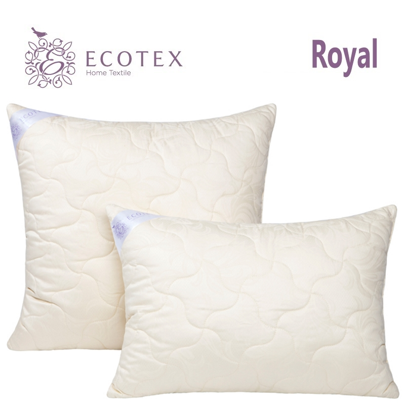 Pillow Cashmere collection Royal. Production company Ecotex(Russia). monoclonal antibody production