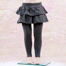 3fc918f47ba2e New Fashion Solid Color Girls Skirt-Pants Cake Skirt Baby Pants Kids  Leggings(China