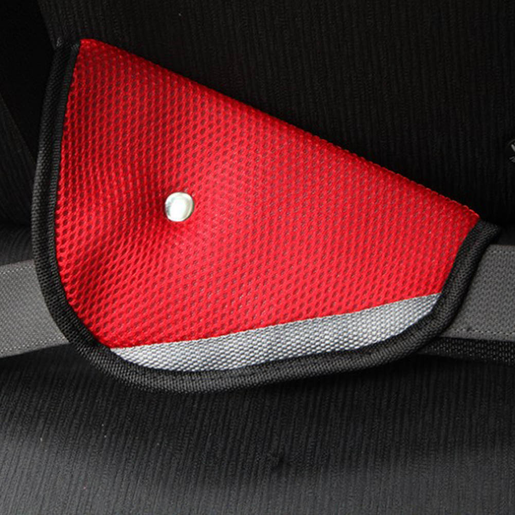 2018 New Triangle Child Car Safety Belt Adjust Device Holder Child Resistant Safety Belt Protector Baby Adjuster Seat Belt