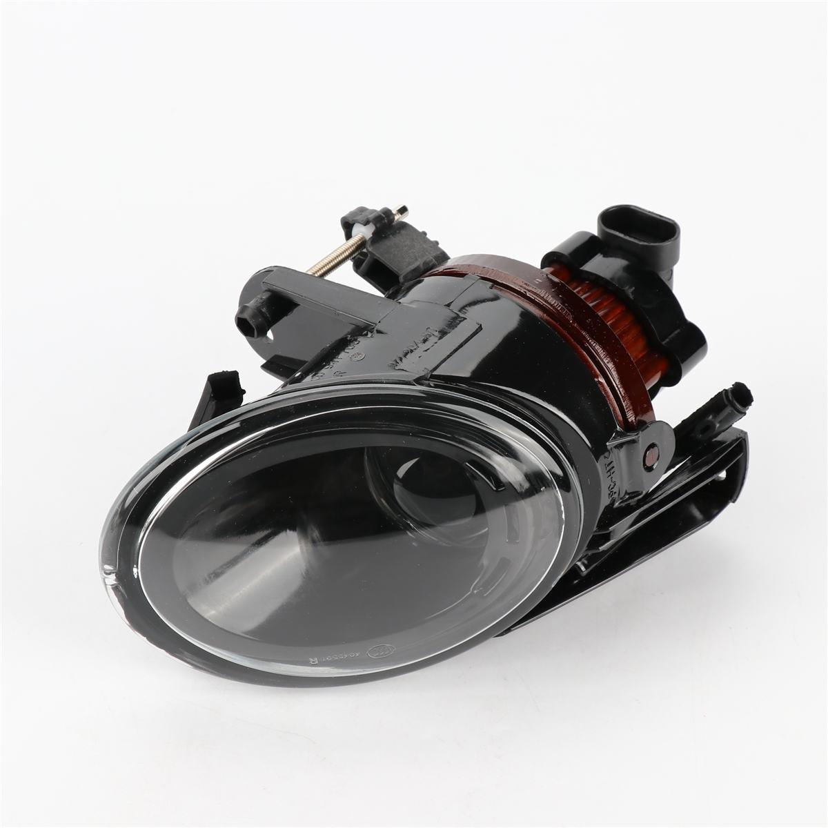 1PCS Bumper Projection Convex Lens Headlights Fog Lamp Front Right Side For VW Passat B6 3C 3C0 941 700 1pcs front halogen foglamps clear glass lens front fog light driving lamp for volkswagen passat b6 for right side