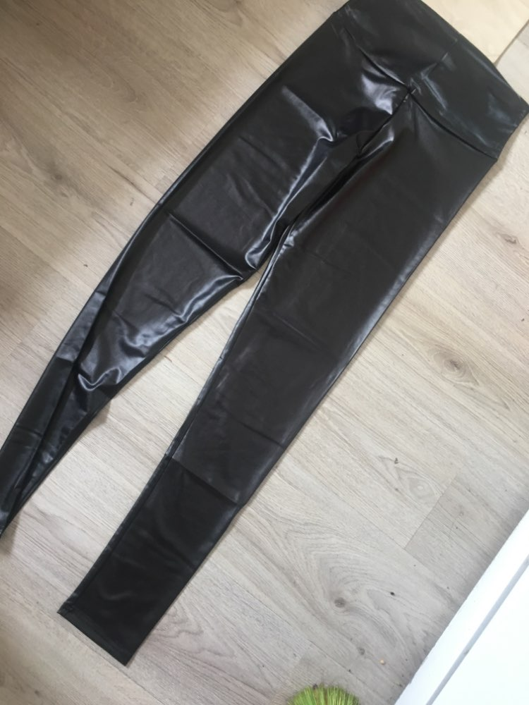 Free shipping 2018 New Fashion women's Sexy Skinny Faux Leather High Waist Leggings Pants XS/S/M/L/XL 22 colors