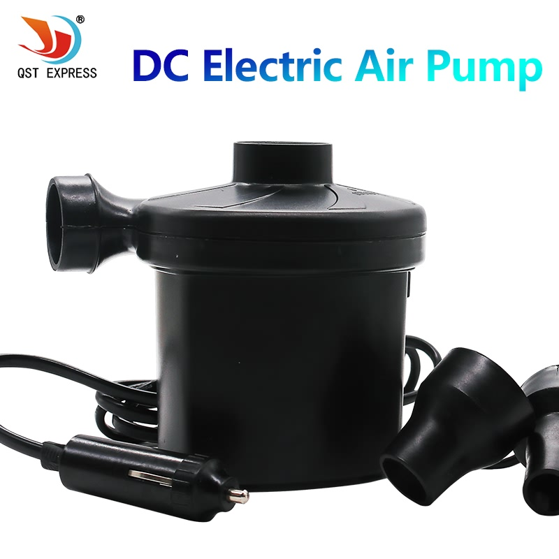 Air Pump automobile cigarette lighte DC 12V AC220-240V Car Electric for Camping Air bed mattress Boat Inflator inflatable pump 75w dc electric air pump for car dc 12v