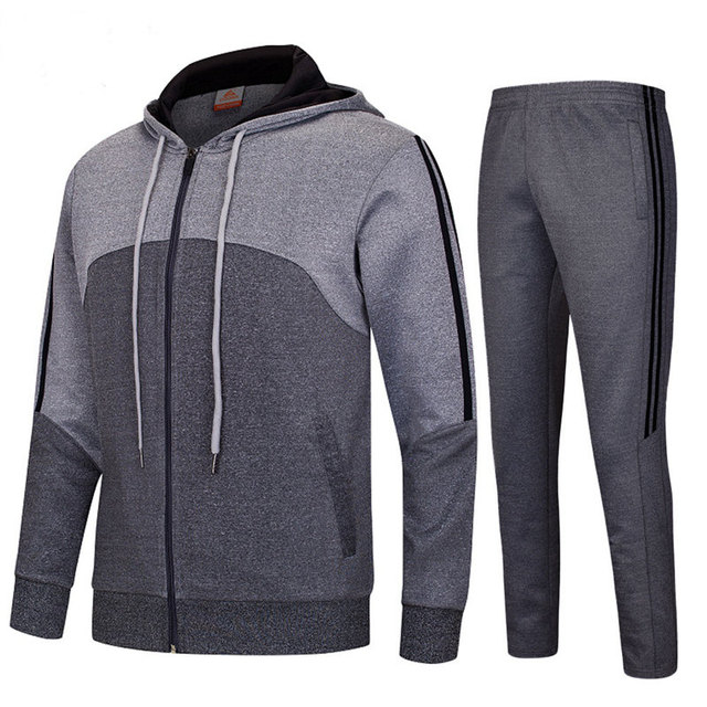 Trajes para correr para hombre chaqueta deportiva con capucha alta calidad  gimnasio Fitness ciclismo baloncesto chándal d721a7865b77c