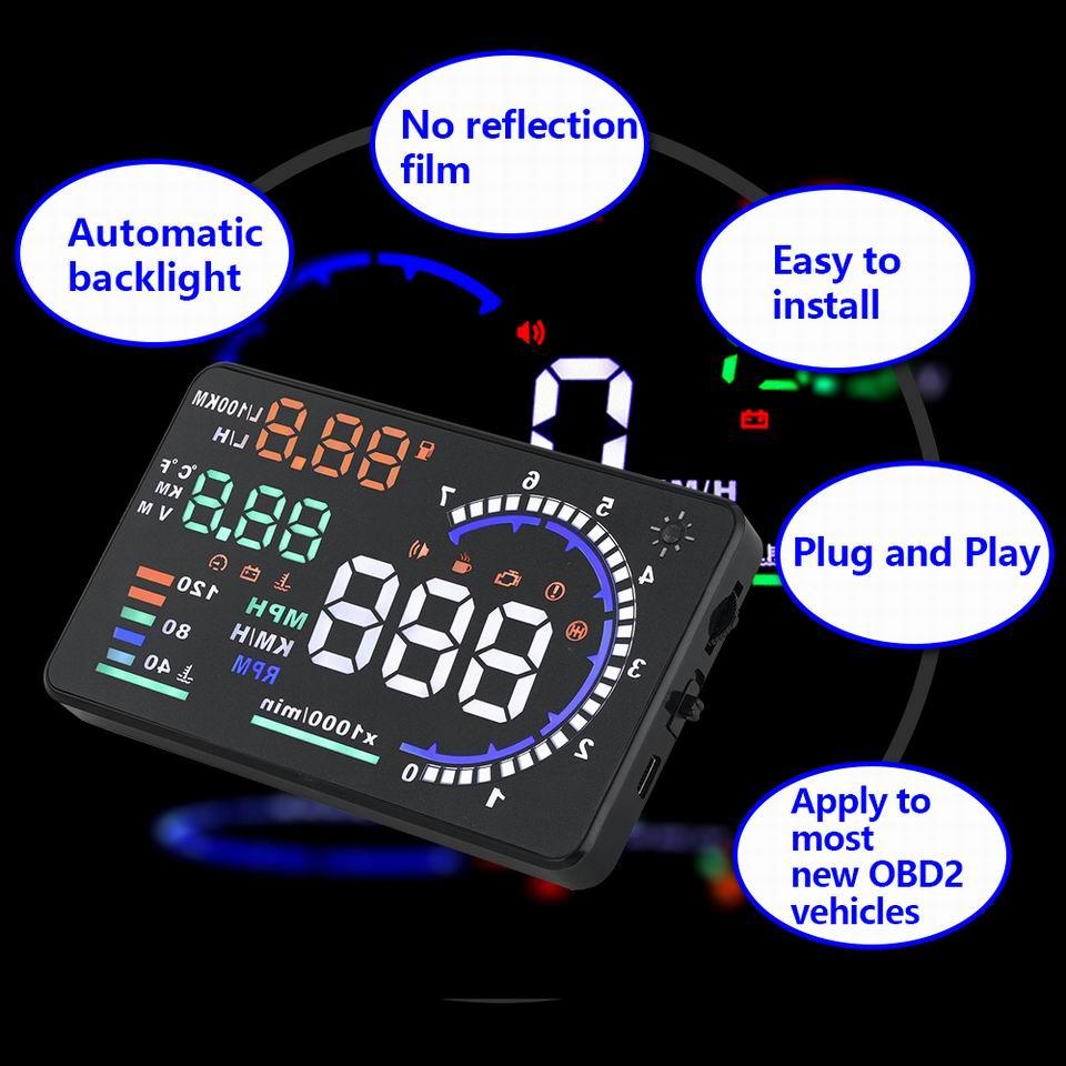 UTB8w3vDh  IXKJkSalUq6yBzVXaY - Car Head Up Display Projector Shows Speed Warning Fuel Consumption