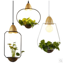 LED E27 Kitchen Dining&bar Pendant Light Loft Wrought Iron Plant Pot Bar Restaurant Pendant Lamp Black/White Hanging Lamps Avize jentinsun new iron birdcage pendant lights lamp loft vintage wrought iron cage pendant light hanging lamps for villa restaurant