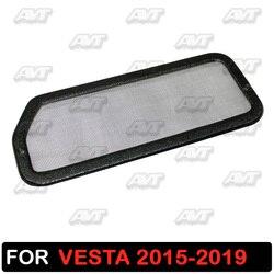 Lada vesta 용 jabot 아래의 필터 메쉬 2015 2016 2017 2018 2019 플라스틱 abs 보호 기능 자동차 스타일링 액세서리