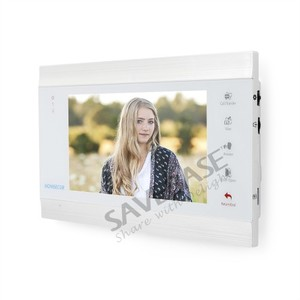 """Image 4 - HOMSECUR 7"""" Video Door Entry Phone Call System with Intra monitor Audio Intercom"""