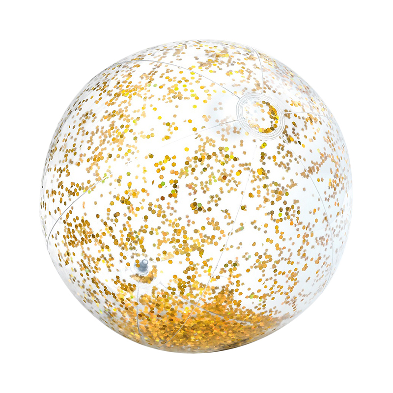 Inflatable ball Intex Transparent glitter 71 cm, 2 colors 2 0m diameter transparent inflatable bubble water walking ball for sale