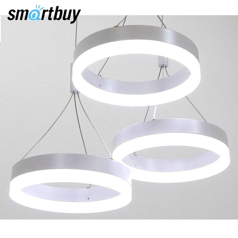 Lampadario SmartBuy 313, luce del LED, HA CONDOTTO il soffitto, 48W 4000 K/6000 K, SBL-СL-48W-313
