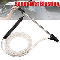 1Pcs Portable Sand Wet Blasting Blaster Washer Sandblasting Kit For Karcher K Series High Pressure Cleaner