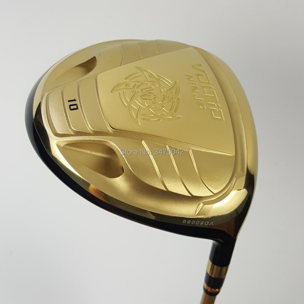 Новый гольф Драйвер Катана ниндзя 880HI Гольф клуб золото или черный 9 или 10 Лофт графит вал R S flex драйвер Бесплатная доставка