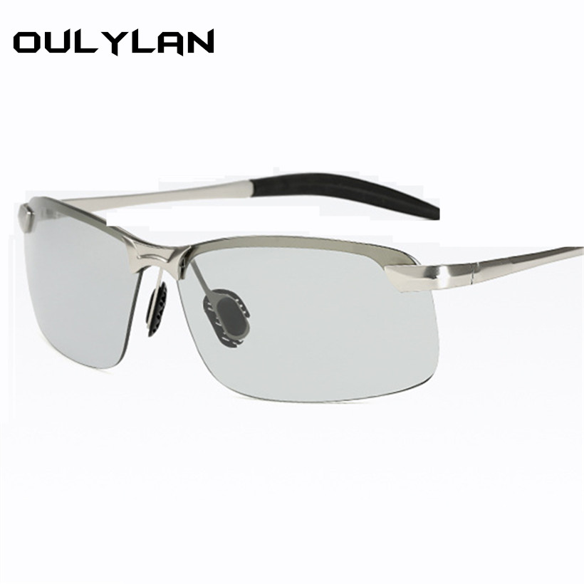 Oulylan 2018 Photochromic Sunglasses Men Polarized
