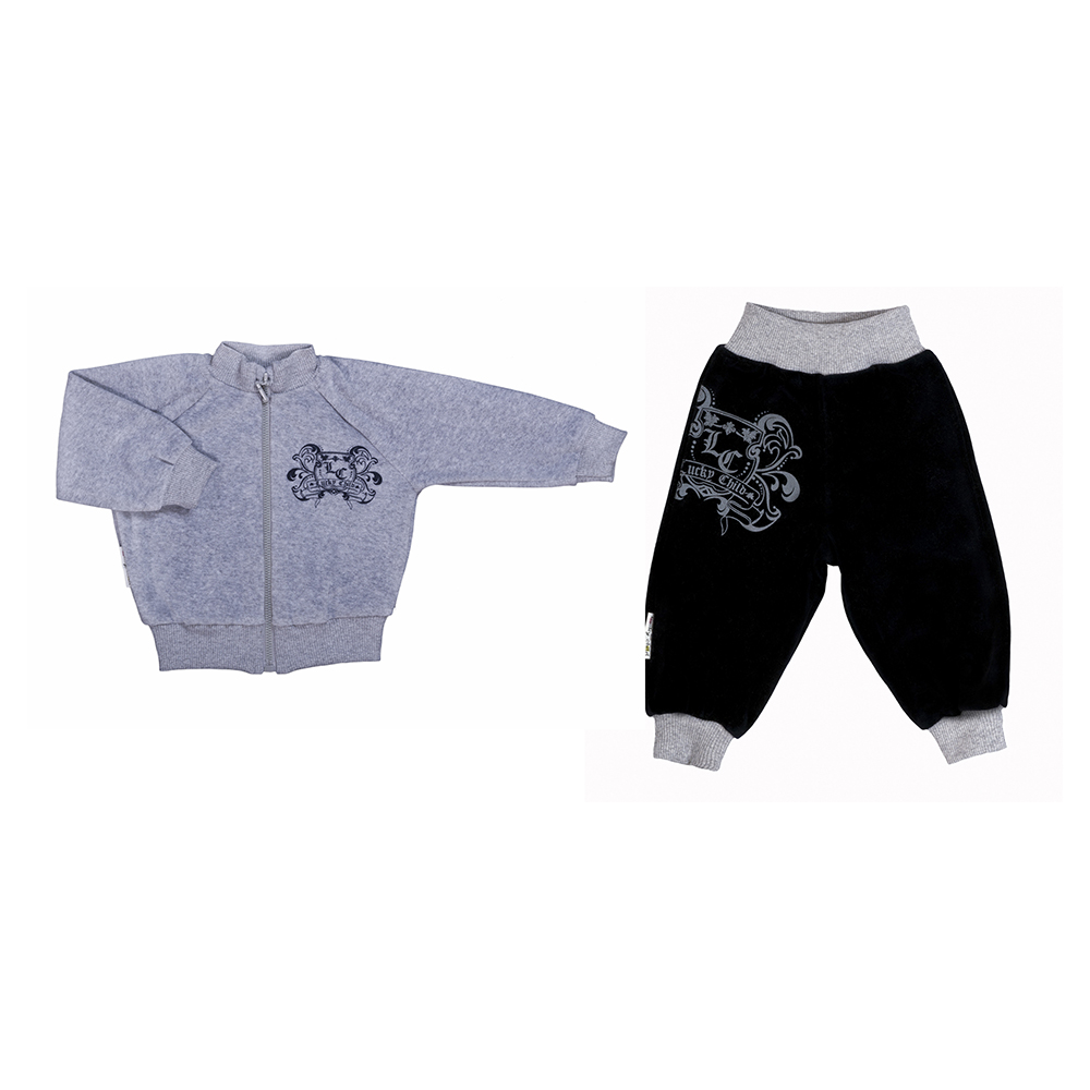 Baby's Sets Lucky Child for boys 5-8 Baby Clothing Top Sliders Bodysuits christmas kids clothing sets 100
