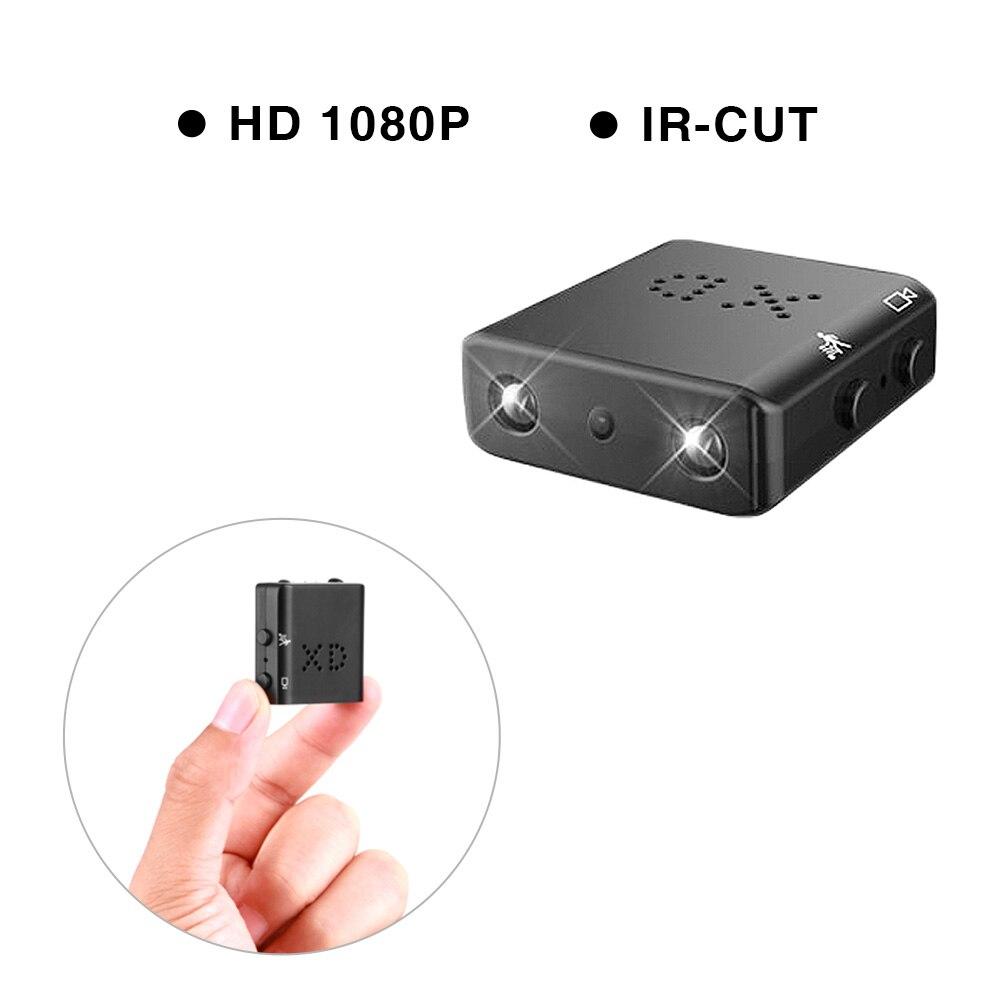 ET XD Volle HD 1080 p Mini Kamera Schleife Video Motion Detection Micro Cam Kleinste IR-CUT Nachtsicht Camcorder DV kamera Neueste