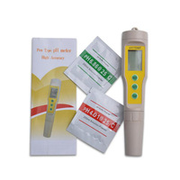 Portable Pen pH TEMP Meter Water Quality Monitor Tester