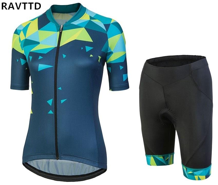 2018 Dámské Cyklistické oblečení Cyklistické dresy s dlouhým rukávem Cyklistické dresy Ropa Ciclismo Cyklistický dres