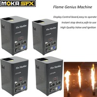 4Pcs/Lot Stage Spray 2 3Meters DMX Flame Machine Disco Effect Stage Flame Projector